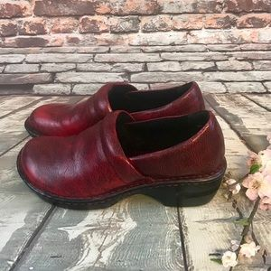 Boc Red Clogs by Born